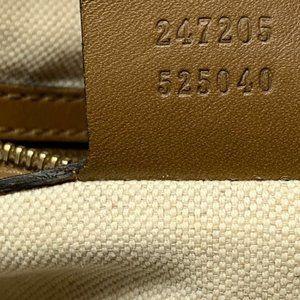 Gucci Bags - 100% Auth Gucci Canvas Boston Medium Crossbody Bag
